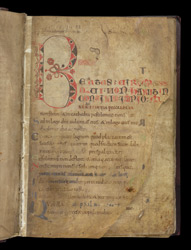 Beatus Page, In 'The Leofric Psalter'